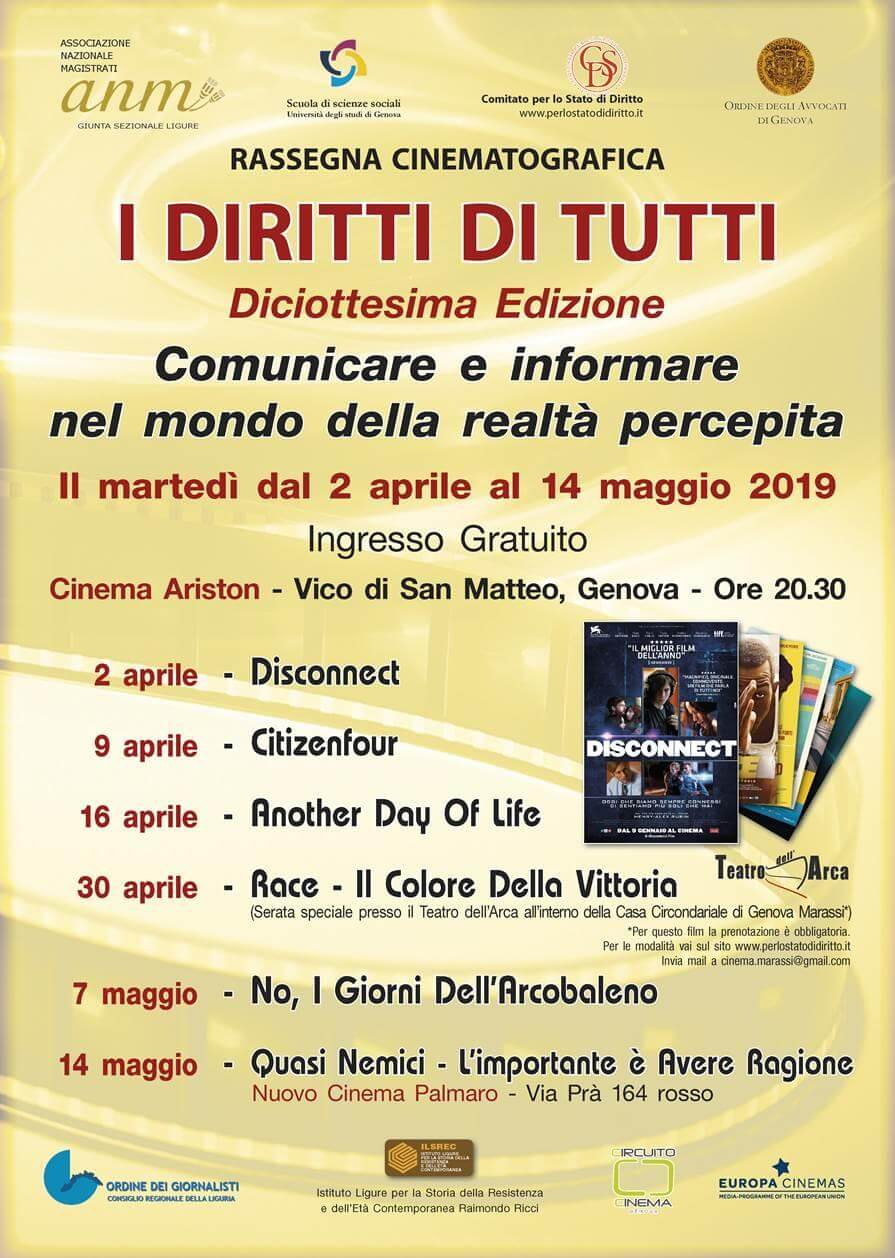 Read more about the article I diritti di tutti – rassegna cinematografica