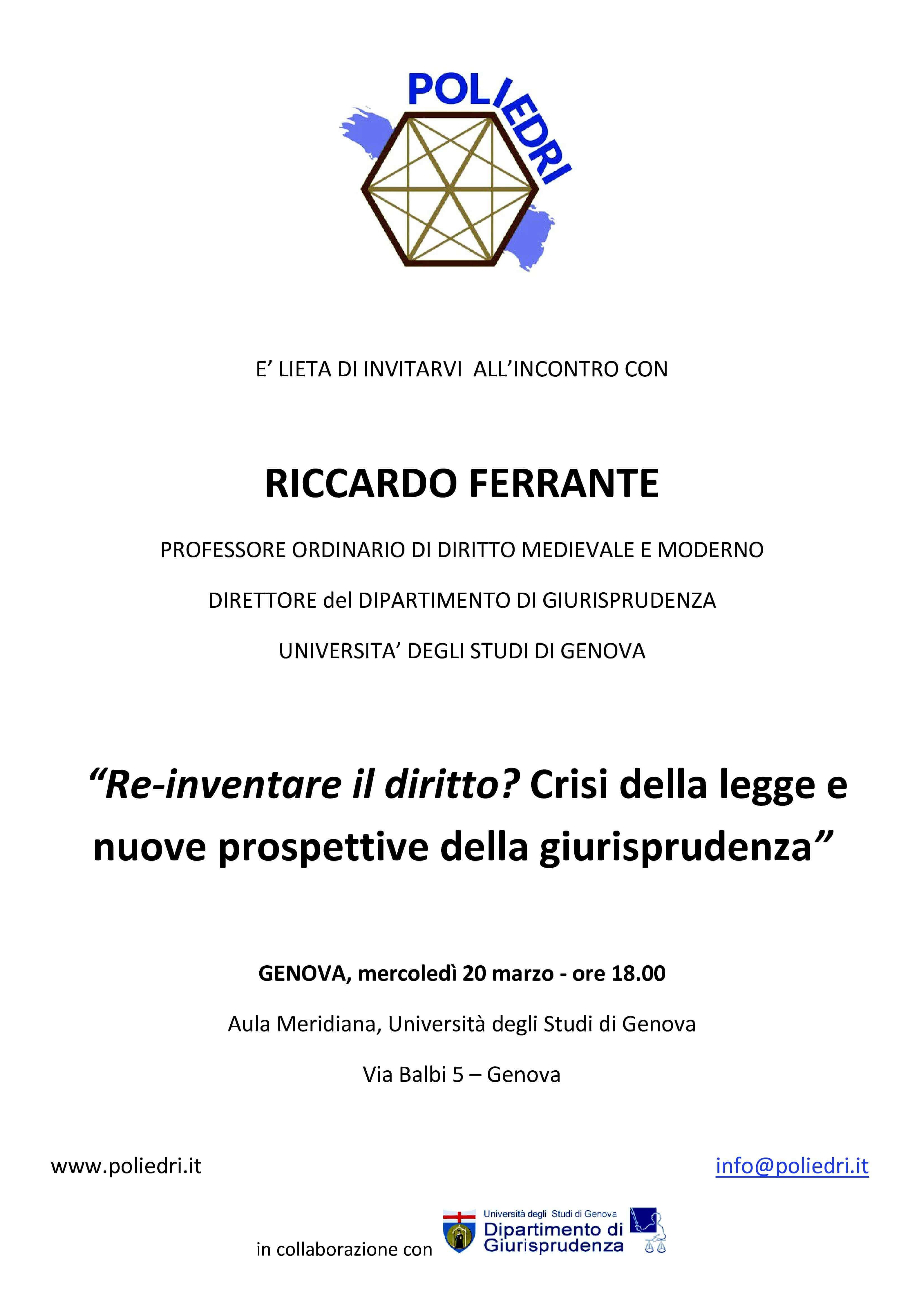 poliedri Invito Ferrante 11