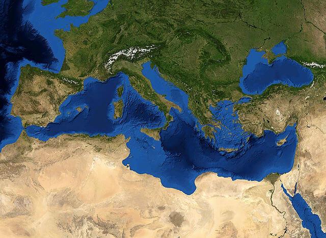 Mediterranean Sea 16.61811E 38.99124N
