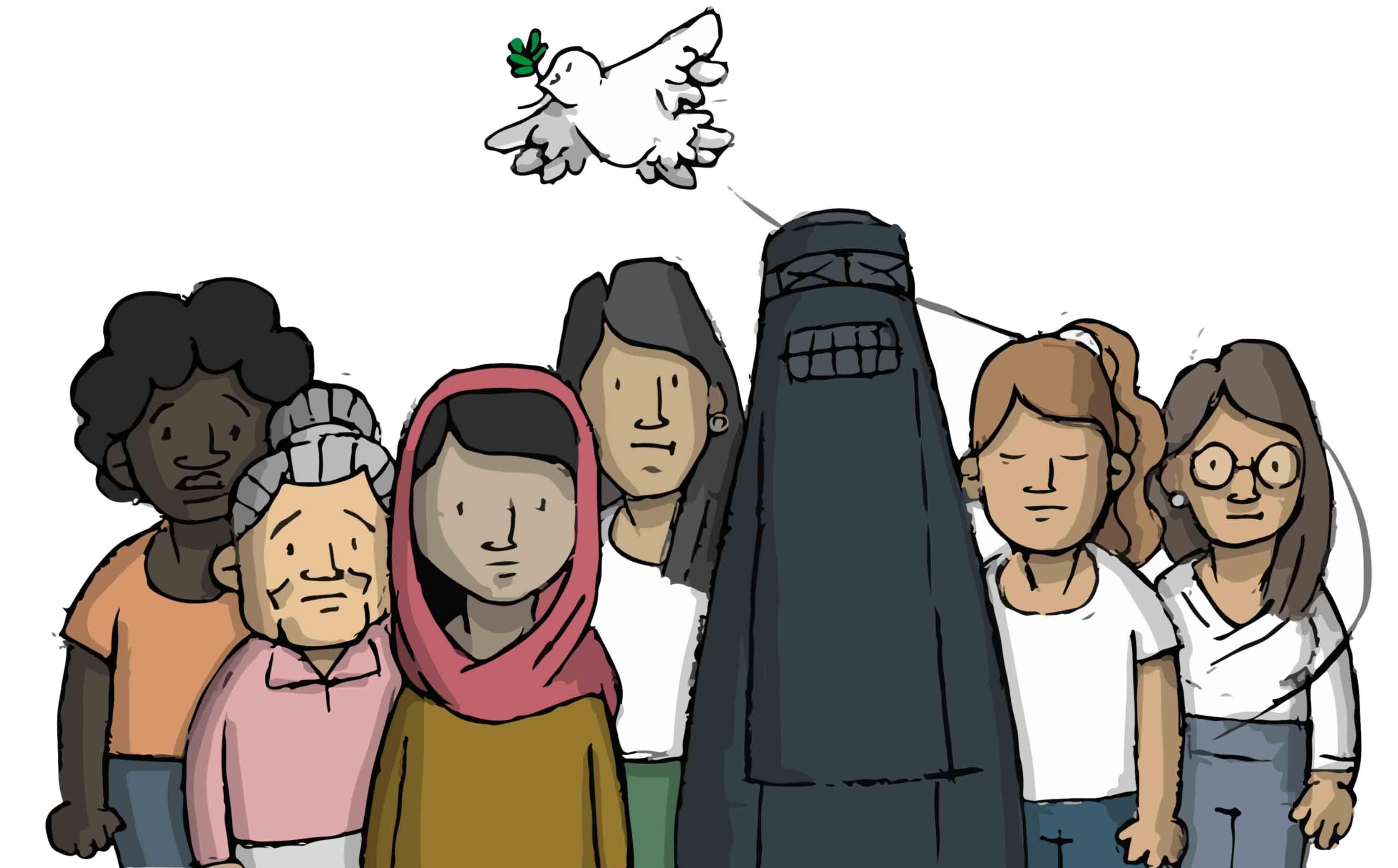 Read more about the article Le donne afgane esistono: il 28 agosto una marcia globale